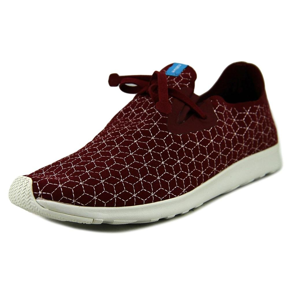 Native Unisex Apollo Moc Fashion Sneaker. B00Q7HHMZ6 10 B(M) US Women / 8 D(M) US Men|Cavalier Red/Shell White/Boxes Embroidery