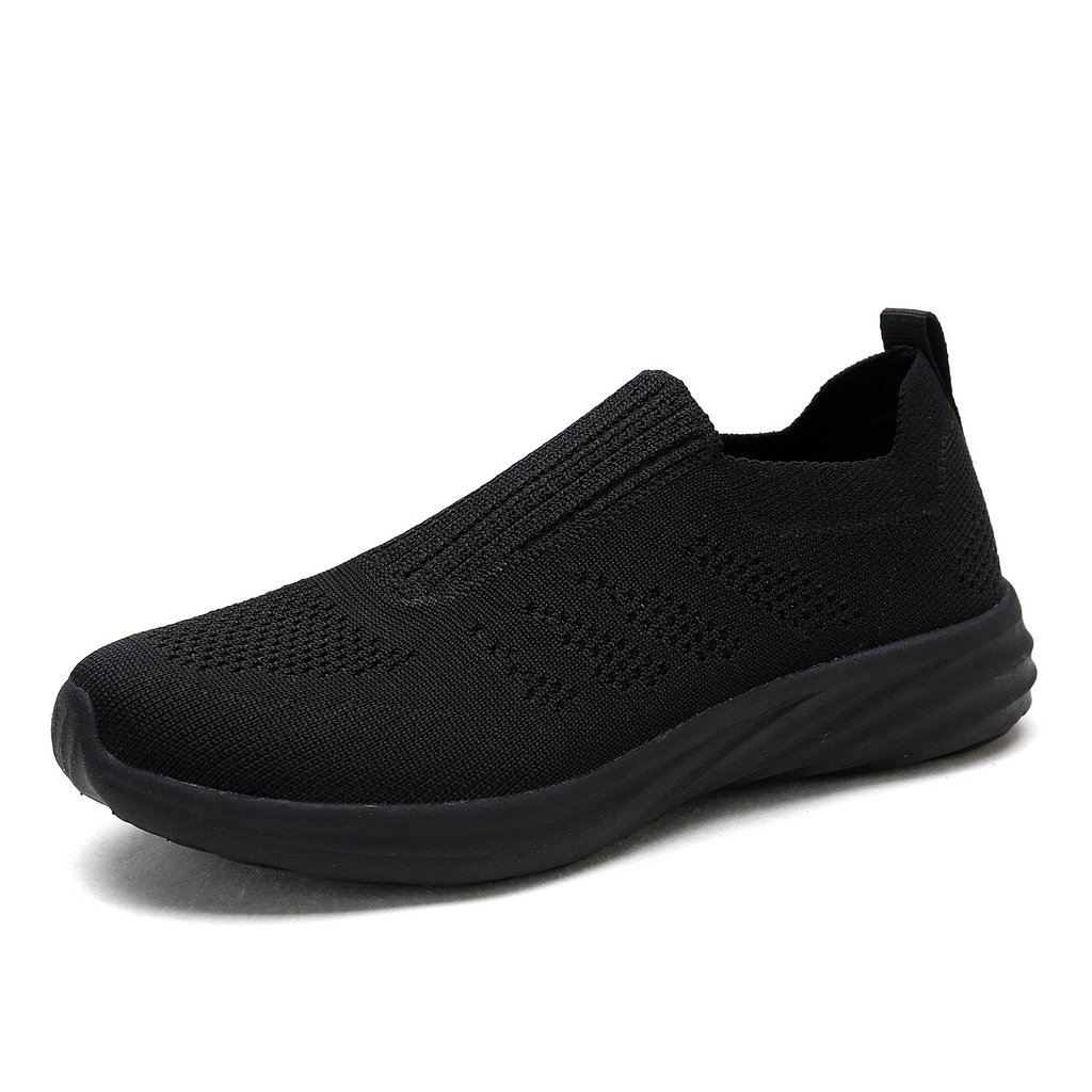 DREAM PAIRS Women's 171114-W All Black Running Shoes Comfort Sneakers Size 8.5 M US