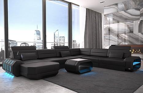 Sofa dreams xxl interior design cuoio roma nero nero divano divano