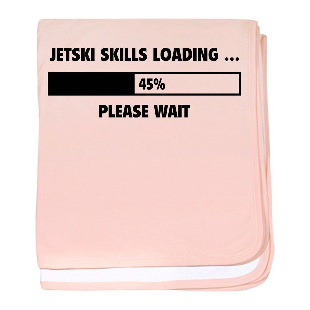 CafePress – JetskiスキルLoading – スーパーソフトベビー毛布、新生児おくるみ ピンク 06802168116832E  ペタルピンク B073W6J98B