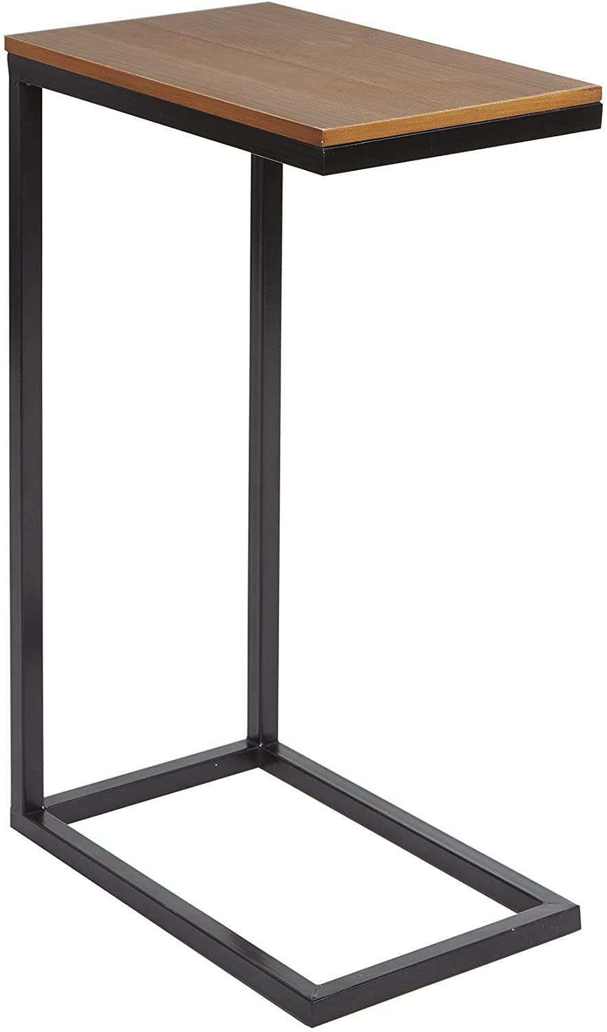 Silverwood Side Table, Black and wood