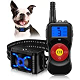 Dog Bark Collars, Citronella Spray Dog Training Collar with Remote Control-Vibration Beep Spray Dog Bark Collar…