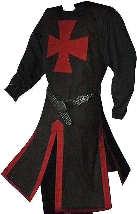 Amazon.com: LETSQK - Túnica medieval para disfraz de ...