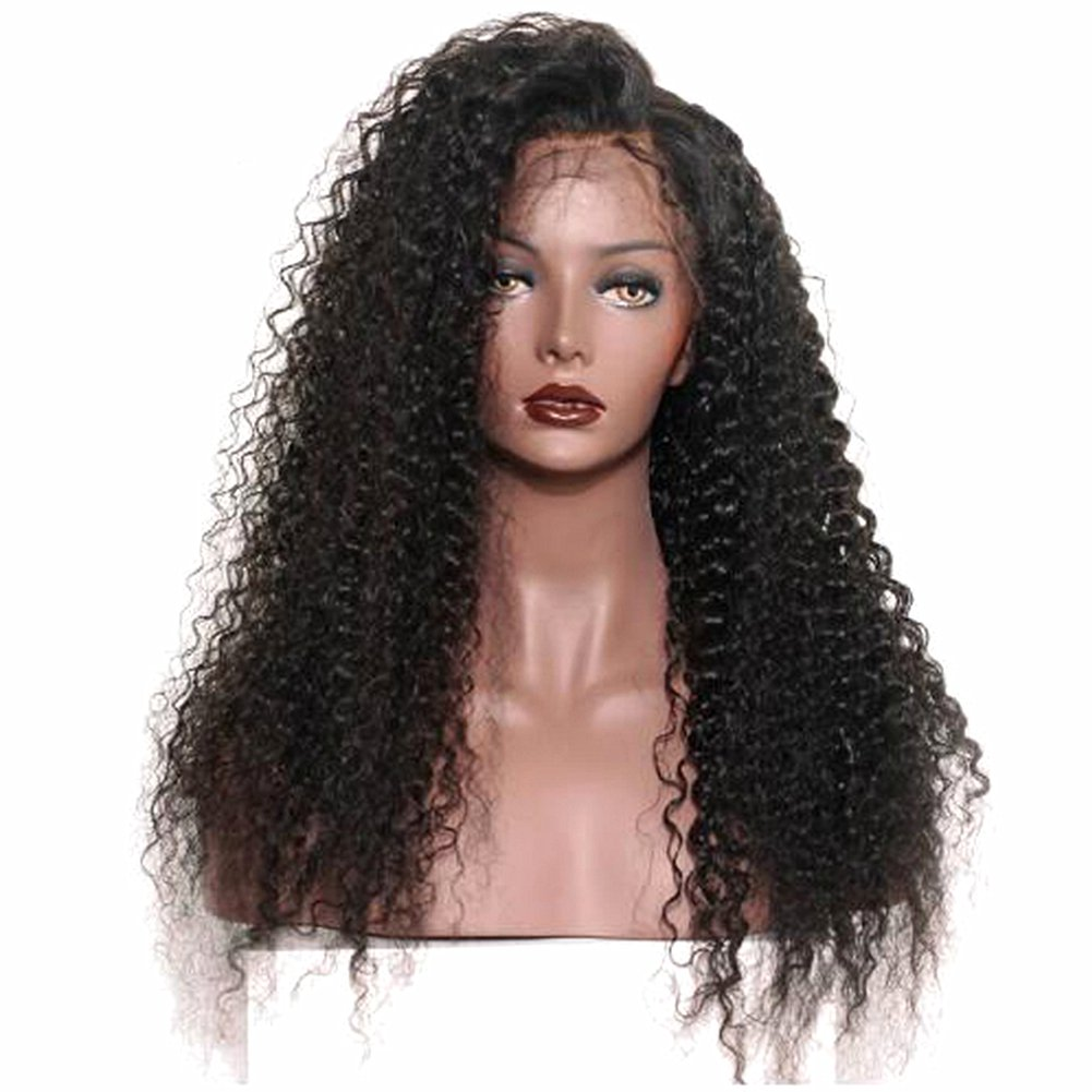 BiuTee Lace Front Wig for Women Black Short Curly Hair Looking Natural Wave Heat Resistant Fiber Glueless Synthetic Wigs 12inch