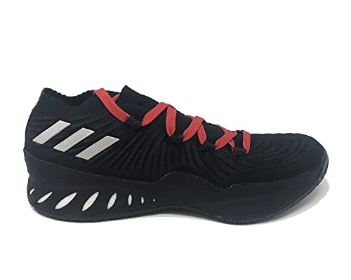 2715e3504e41 adidas Crazy Explosive Low Shoe - Men s Basketball Core Black Silver  Metallic Scarlet