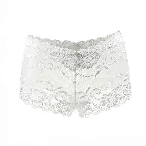 Amazon.com: T T T Store - Bragas de algodón para mujer, sin ...