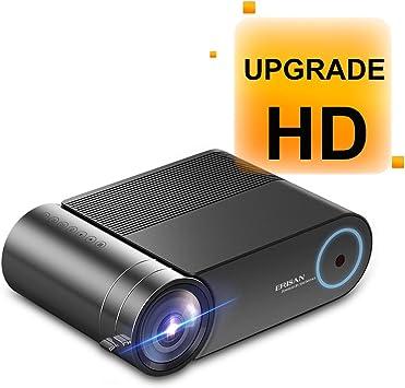 ERISAN S50 Native 1080P Proyector WiFi, 5500 Lux WiFi HD Video ...