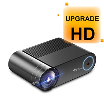 ERISAN S50 Native 1080P Proyector WiFi, 5500 Lux WiFi HD Video ...