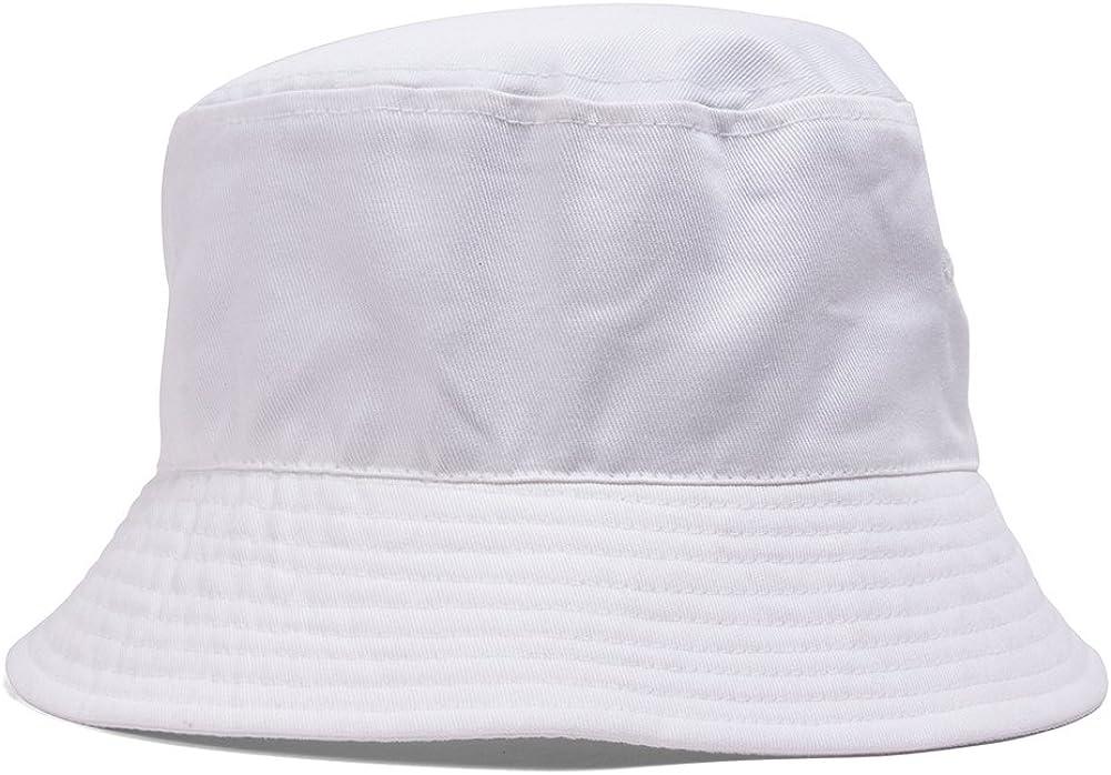 TOP HEADWEAR TopHeadwear Blank Cotton Bucket Hat at  Women's Clothing store