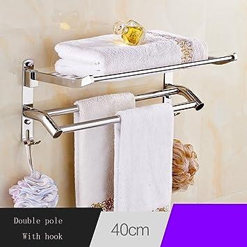 Edelstahl Handtuchhalter Edelstahl Siebeinsatz Handtuchhalter, Bad Racks, Badezimmer  Handtuchhalter, Bad Anhänger Wand