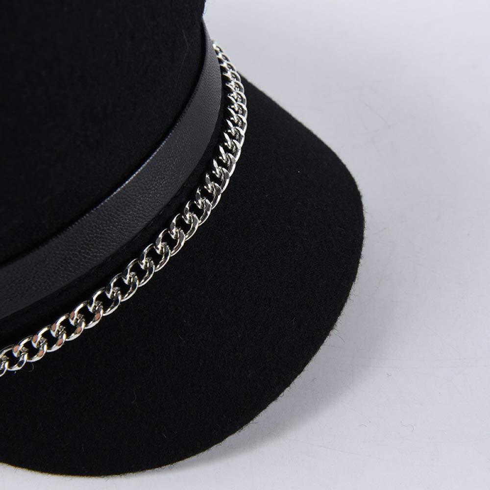 56-58 Cm Cappello da Cloche per Visiera da Donna con Berretto da Panettiere con Visiera per Berretto Baker Boy da Donna