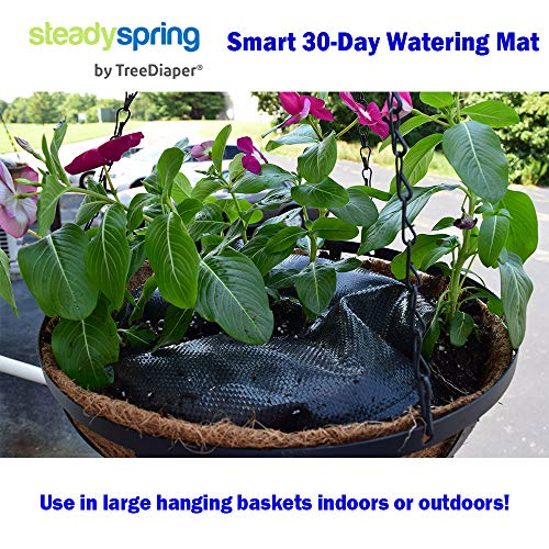 SteadySpring Smart 30-Day Watering Mat for Tomato Plants, Peppers, Veggies, Perennials, Annuals - Self-Fills with Rain (4) by Smart Spring (Image #7)