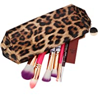 Cosmetic Storage Bag, Fashion Leopard Print Multiple Functional Portable Makeup Tool Bags
