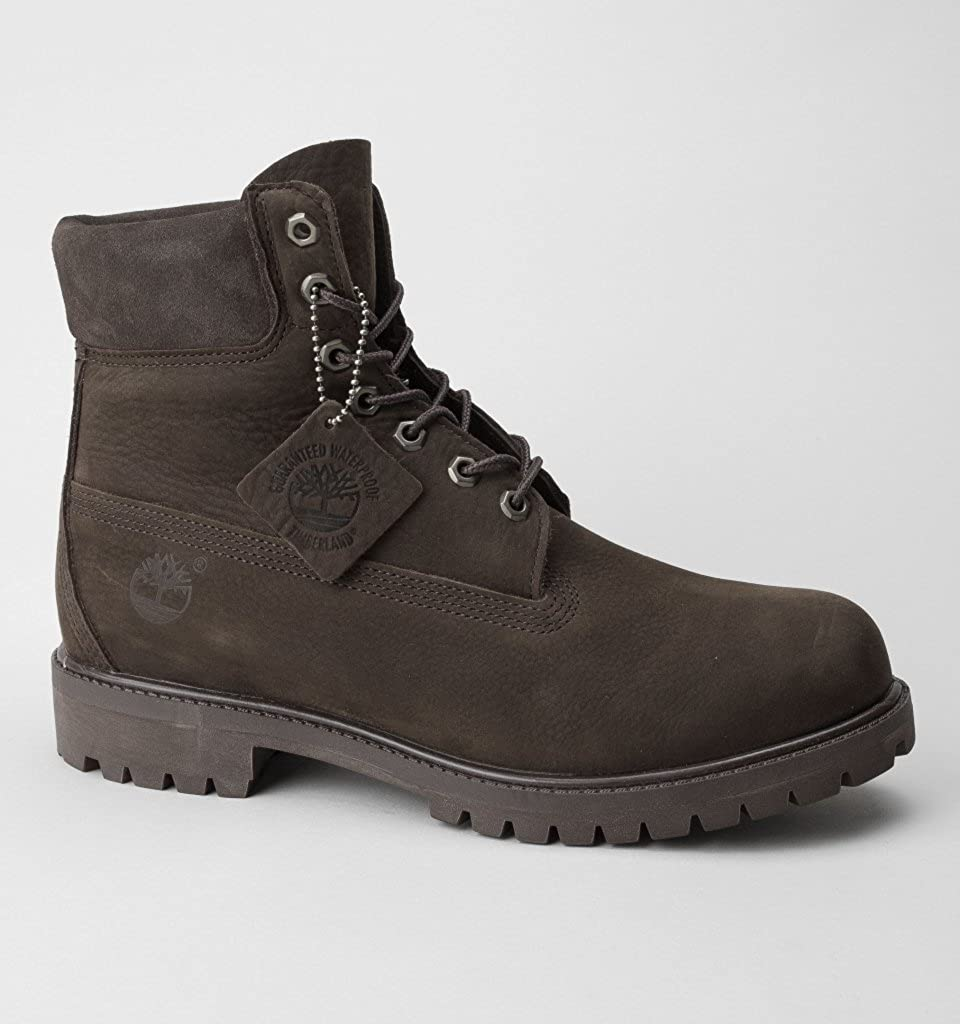 Timberland Men s 6 Inch Premium Waterproof Boots Brown  Amazon.co.uk  Shoes    Bags bf76aae4f