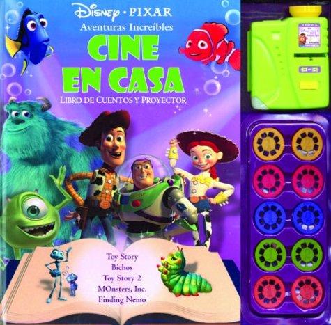 Aventuras asombrosas: Libro de cuentos y proyector Cine en casa ...