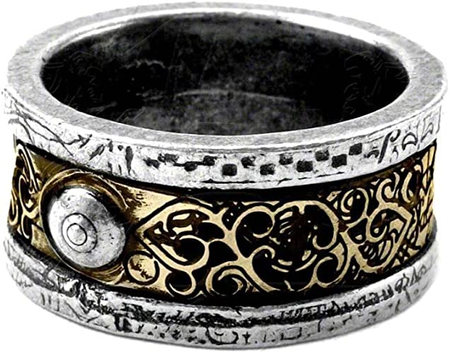 Alchemy Gothic Thors Runehammer Pewter Ring Official Alchemy Gothic Petwer Jewelry