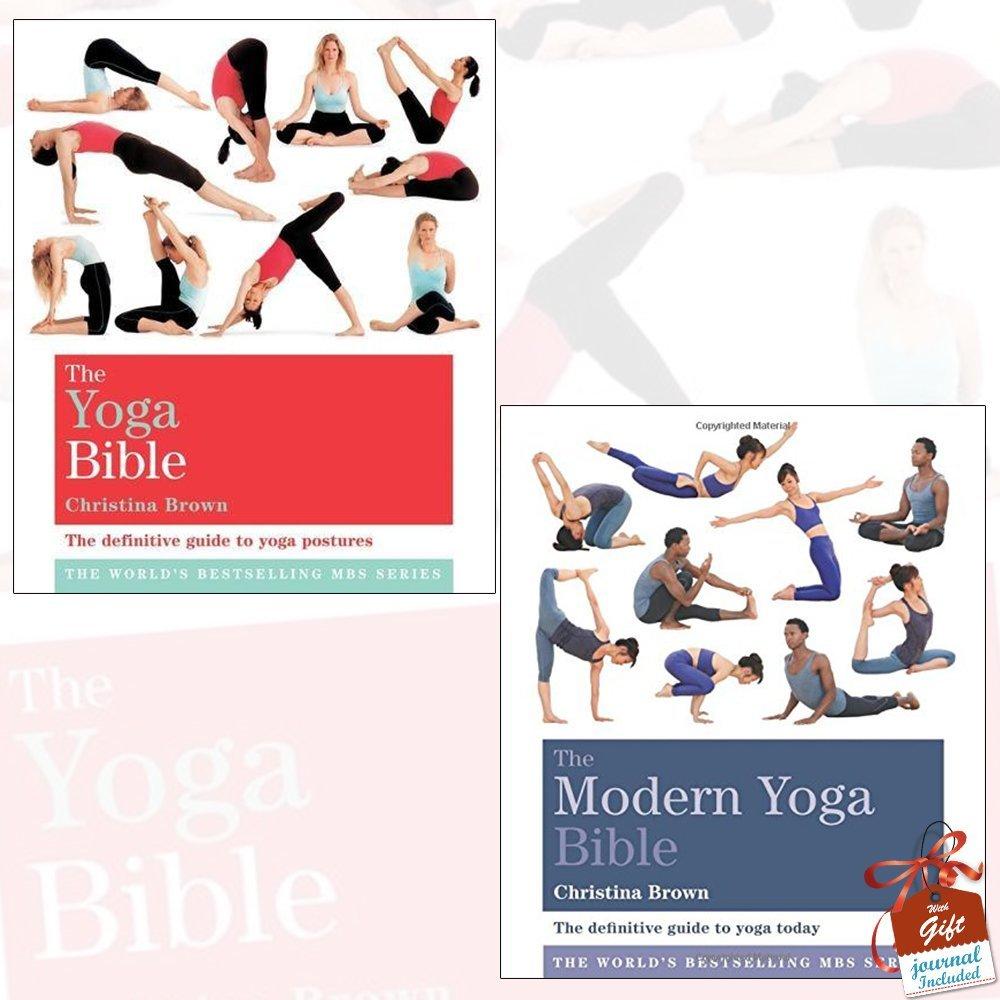 The Yoga Bible and The Modern Yoga Bible 2 Books Collection ...