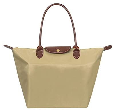 Women WaterProof Handbag Synthetic Leather Handle Tote Shopping ...