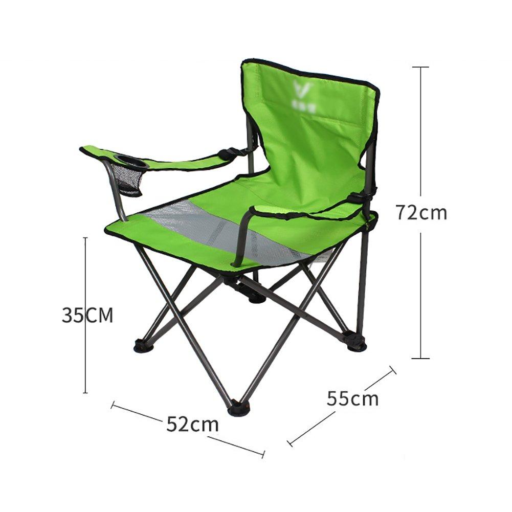 Liegestuhl Freien Faltender Strand-Stuhl-Mittagspause-Klubsessel-Büro-Freizeit-Stuhl-tragbarer Fischen-Skizzen-Stuhl