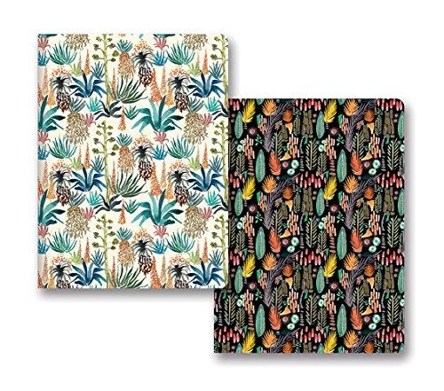 Studio Oh! Notebook Duo of 2 Coordinating Designs Available in 8 Bundles, Justina Blakeney Botanicals ()