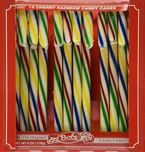 Bobs Cherry Rainbow Canes, 6.00 ()