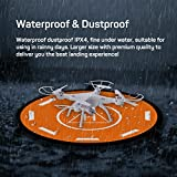 Universal-Drone-Landing-Pad-launchpad-102cm-42-inch-Foldable-Waterproof-large-Landing-Pad-for-RC-Drones-Helicopter-DJI-Mavic-Pro-Phantom-2344-Pro-Inspire-21-Antel-Robotic-More-by-LETMY