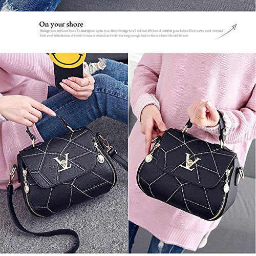 Shell Designer Handbags Thread Bag Clutch Womens Leathe Purse Deep Blue Women'stote XwqA5x1E1