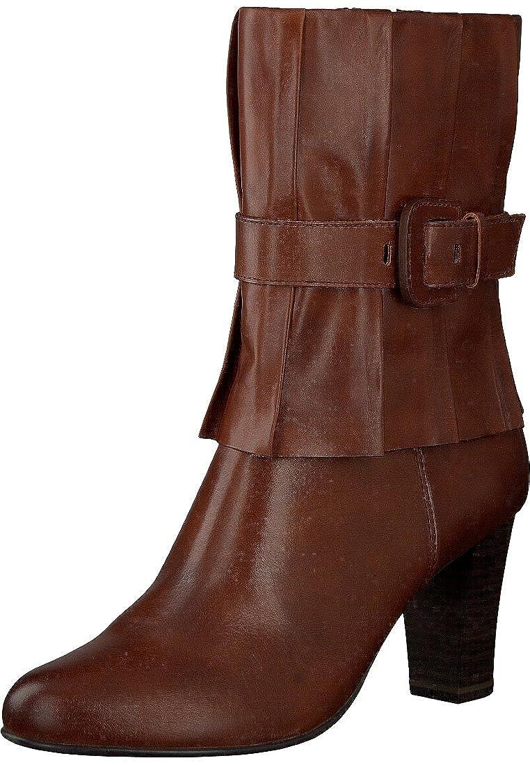 amazon großartiges Aussehen neuer & gebrauchter designer Caprice 9-25331-29 Damen Stiefelette Leder petrol