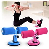 Wolblix Assistive Abdominal Chest and arm Muscles Exercise Adjustable Assistant Fitness Equipment Suction Cup Home Workout Healthy Abdomen Press Leg Support