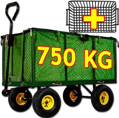 Carro de transporte trolley trolley carro carro de jardín jardín remolque: Amazon.es: Hogar