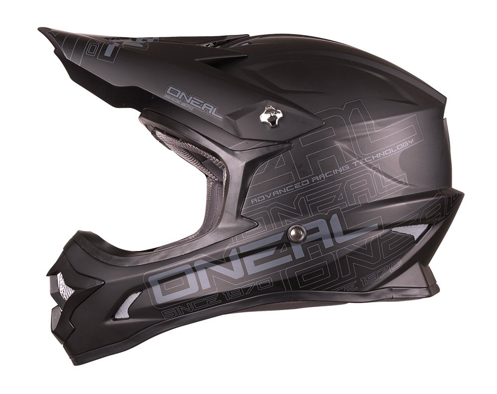 O'Neal 3 Series Helmet (Black, Small) by O'Neal