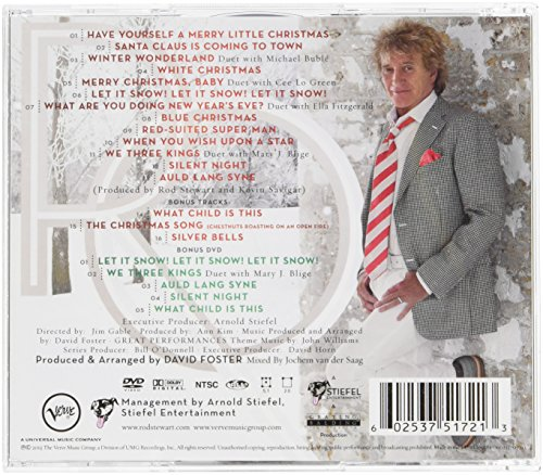 Rod Stewart - Merry Christmas, Baby [CD/DVD Combo][Deluxe Edition ...