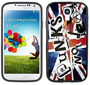 Punk's Not Dead Punk Rock Handmade Samsung Galasy S3 I9300 Black Bumper Hard Plastic Case