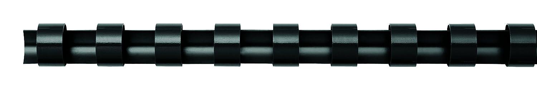Fellowes - Espiral para encuadernación (100 unidades, plástico, 12,5 mm, A4), color negro: Amazon.es: Oficina y papelería