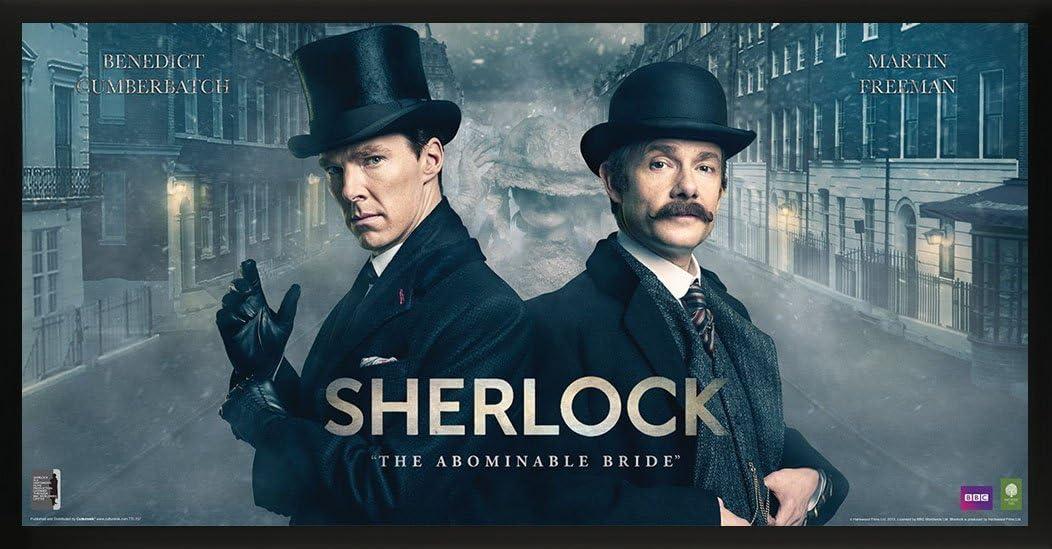 Benedict Cumberbatch SEASON 4 POSTER 24x36 SHERLOCK POSTER fea
