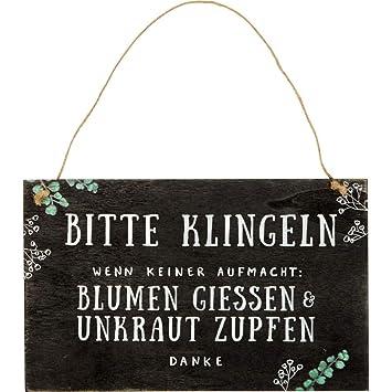 Die Spiegelburg 15692 Gartenschild 'Bitte klingeln ' I