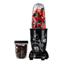 [For RuPay Prepaid Card] Wonderchef 400 Watt Nutri-Blend (Black) with Free Servin Glass Set of 6Pcs