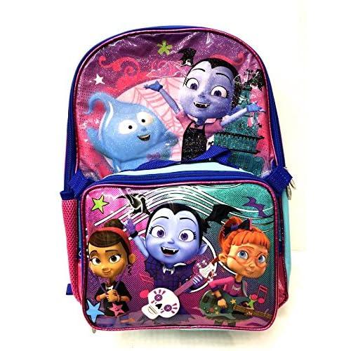"Disney Vampirina 16/"" Large Shine Blue School Book Backpack"