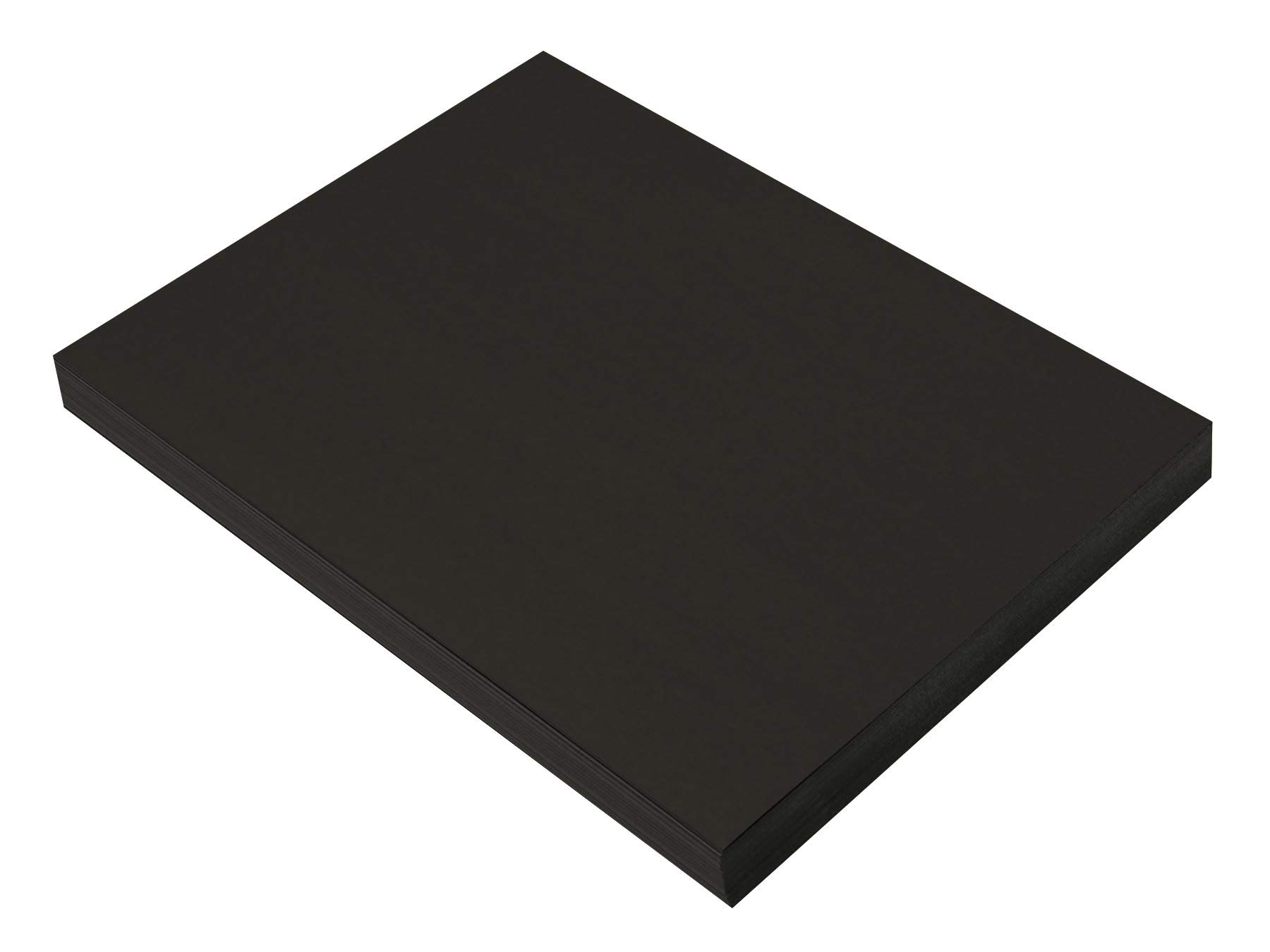 SunWorks Heavyweight Construction Paper 9 x 12 Inches Black 100 Sheets