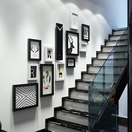 Amazon Com Photo Frames Photo Wall Staircase Decorative Painting