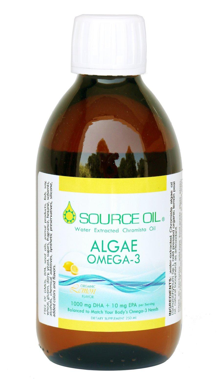 50% DHA Source Oil Algae Omega-3 (Organic Lemon Flavor)