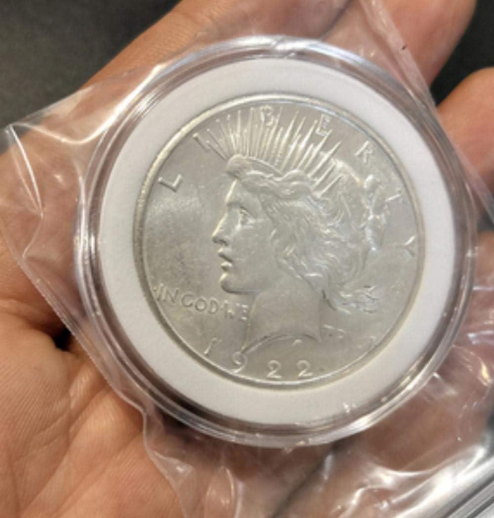 1922-1923 NKJWHB American Meng Goddess Peace Eagle Ocean Un d/ólar Gran di/ámetro Exquisito Moneda de Plata extranjera Moneda de Moneda extranjera A/ño era Posterior a la Primera Guerra Mundial.