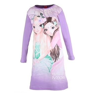 komplettes Angebot an Artikeln großer Diskontverkauf Brandneu Top Model Mädchen Nachthemd Fantasy lila 98838 Col 898