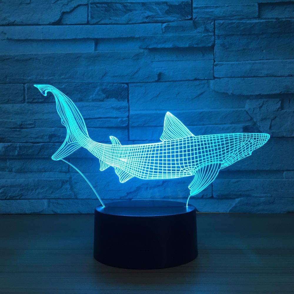 Herramientas Pesca Tiburón Led De Dentro 3d Dtcrzjxh Nuevo Yfvgyb76