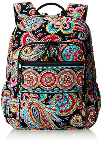 (Vera Bradley Campus Tech Backpack, Signature Cotton, Parisian)