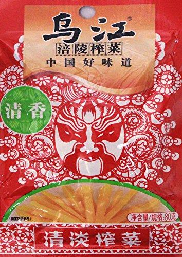 18f0b66479b1f 清淡榨菜Chongqing Fuling Zhacai Preserved Mustard Strips Si Chuan Zha Cai -  Light Flavor 2.82