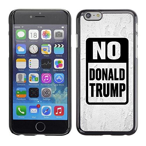 """Print Motif Coque de protection Case Cover // Q04150500 Stop Trump gris blanc // Apple iPhone 6 6S 6G 4.7"""""""