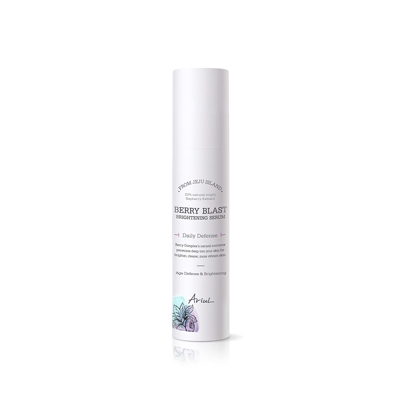 Ariul Berry Blast Brightening Serum 1.69 fl. oz. 7 Organic Giga-white Extracts from Alps, Natural Facial Serum, Brightening & Regeneration, Panthenol, Collagen, Hyaluronic Acid, Balance pH Level