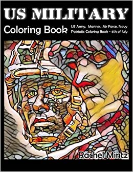 Amazon.com: US Military Coloring Book: US Army, Marines, Air Force ...