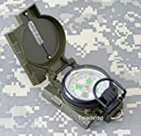 Wholesale Lot 6pcs Marching Lensatic Compasses Folding Survival Scout Compass